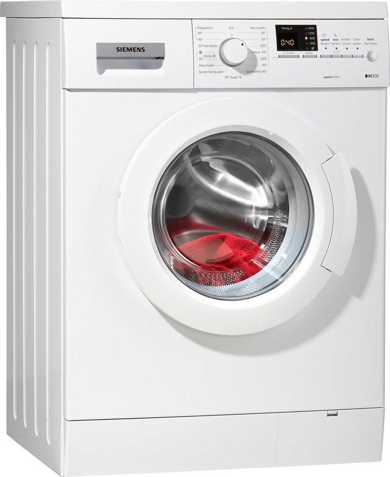 siemens waschmaschine wm14e327 a 6 kg 1400 u min online kaufen otto. Black Bedroom Furniture Sets. Home Design Ideas