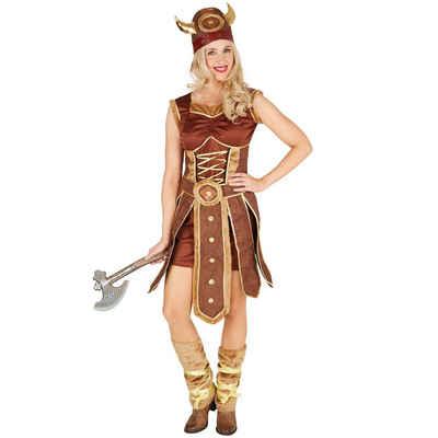 tectake Wikinger-Kostüm »Frauenkostüm Wikingerin«