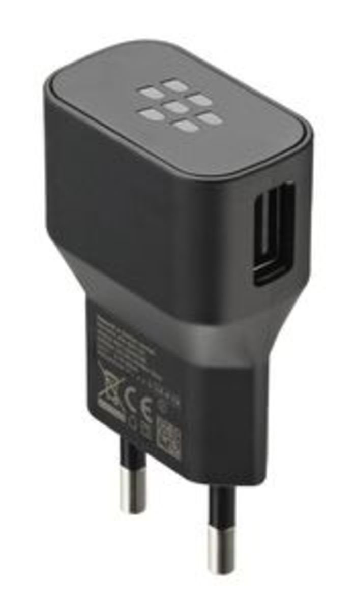 BlackBerry Lader »Wall Charger Set (Lader + Kabel), Schwarz«