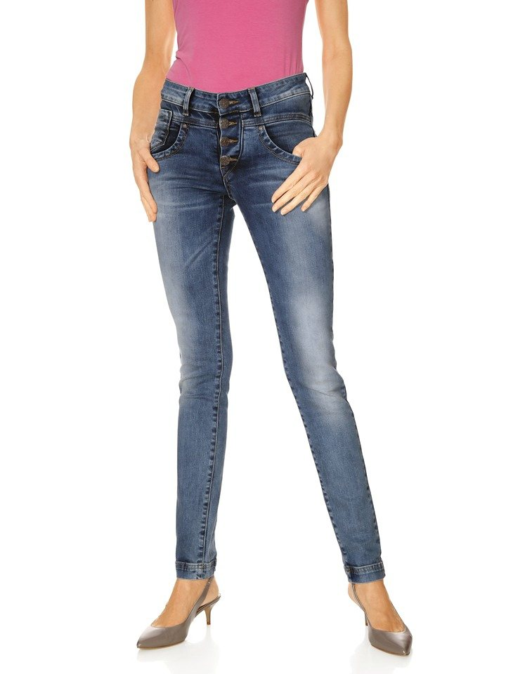 Jeans in blue stone