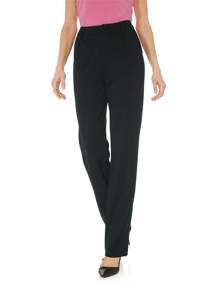 Travel Couture Marlenehose in schwarz