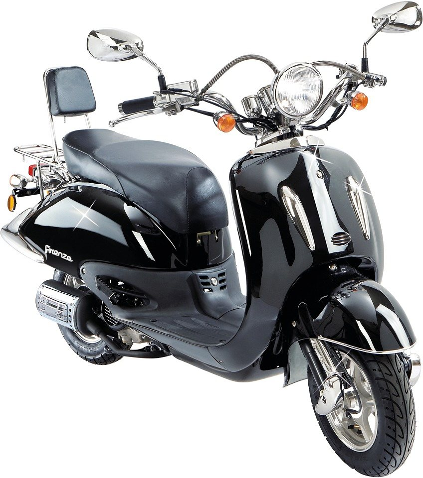 motorroller retro firenze 50 ccm 45 km h otto. Black Bedroom Furniture Sets. Home Design Ideas