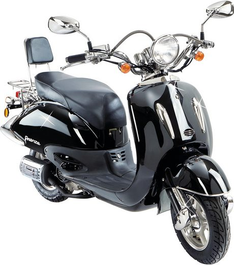 flex tech motorroller retro firenze 50 ccm 45 km h. Black Bedroom Furniture Sets. Home Design Ideas