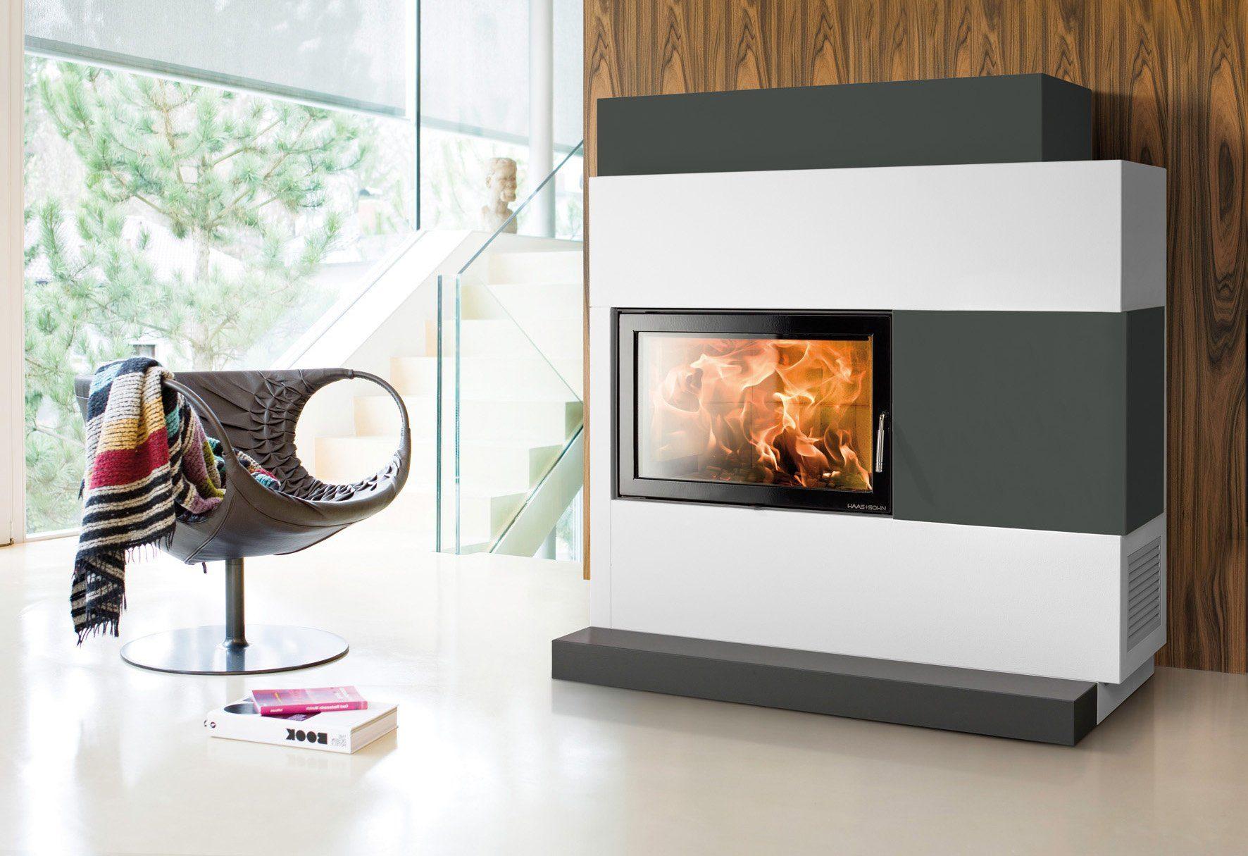 Haas & Sohn Kaminbausatz »Adonis«, 8 kW, ext. Luftzufuhr, Wärmespeichebeton