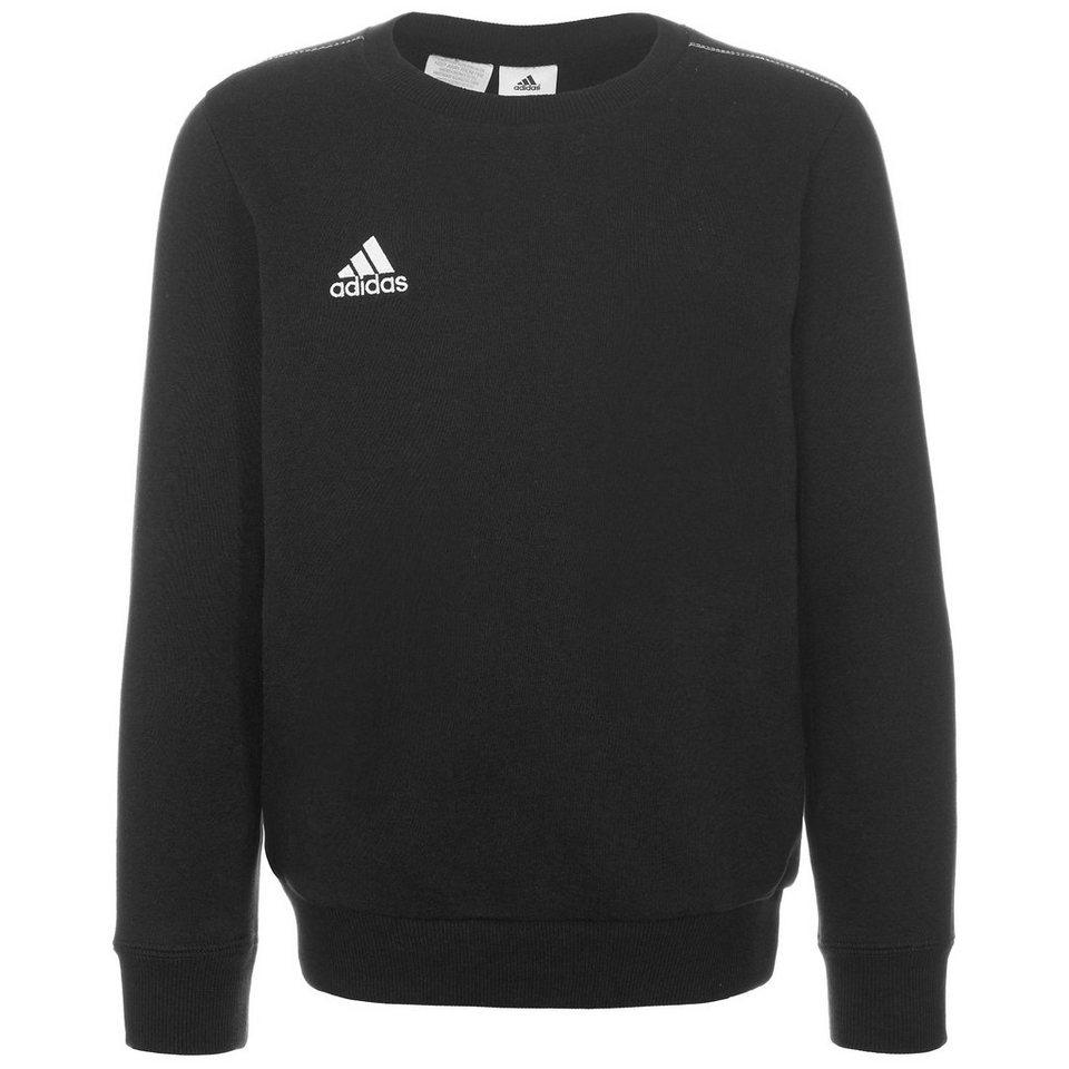 adidas Performance Core 15 Sweatshirt Kinder in schwarz / weiß