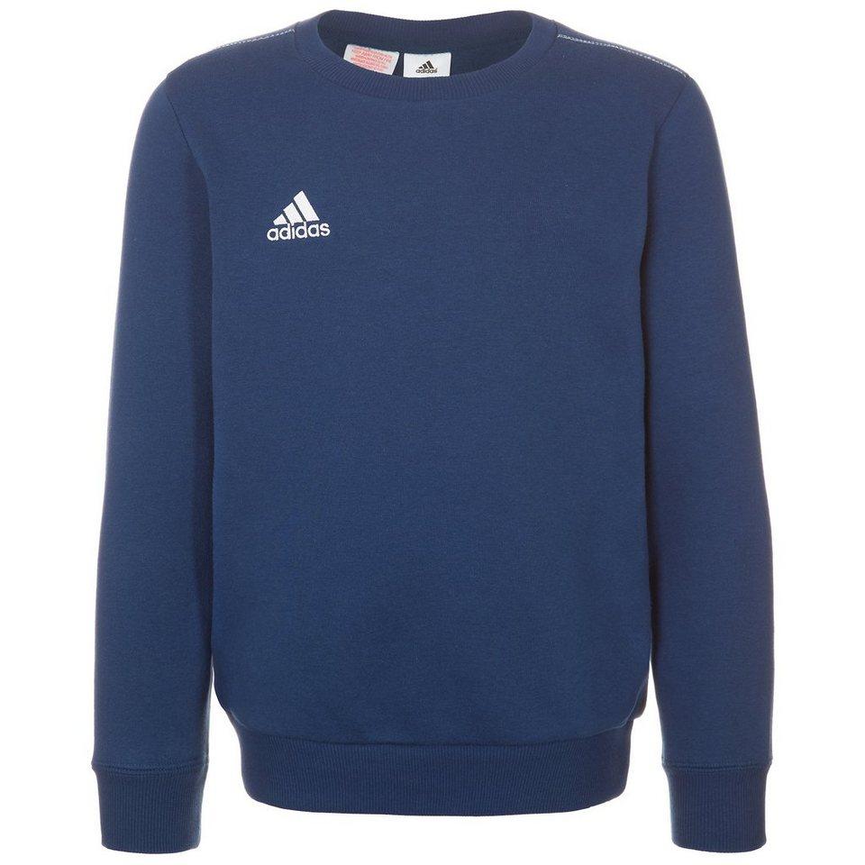 adidas Performance Core 15 Sweatshirt Kinder in dunkelblau / weiß