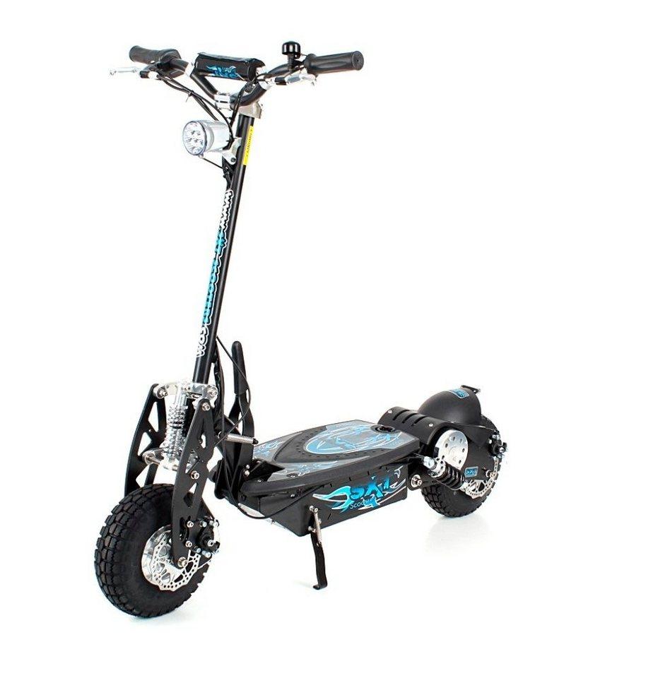 E-Scooter »SXT1000 Turbo«, 1000 Watt, 32 km/h in schwarz