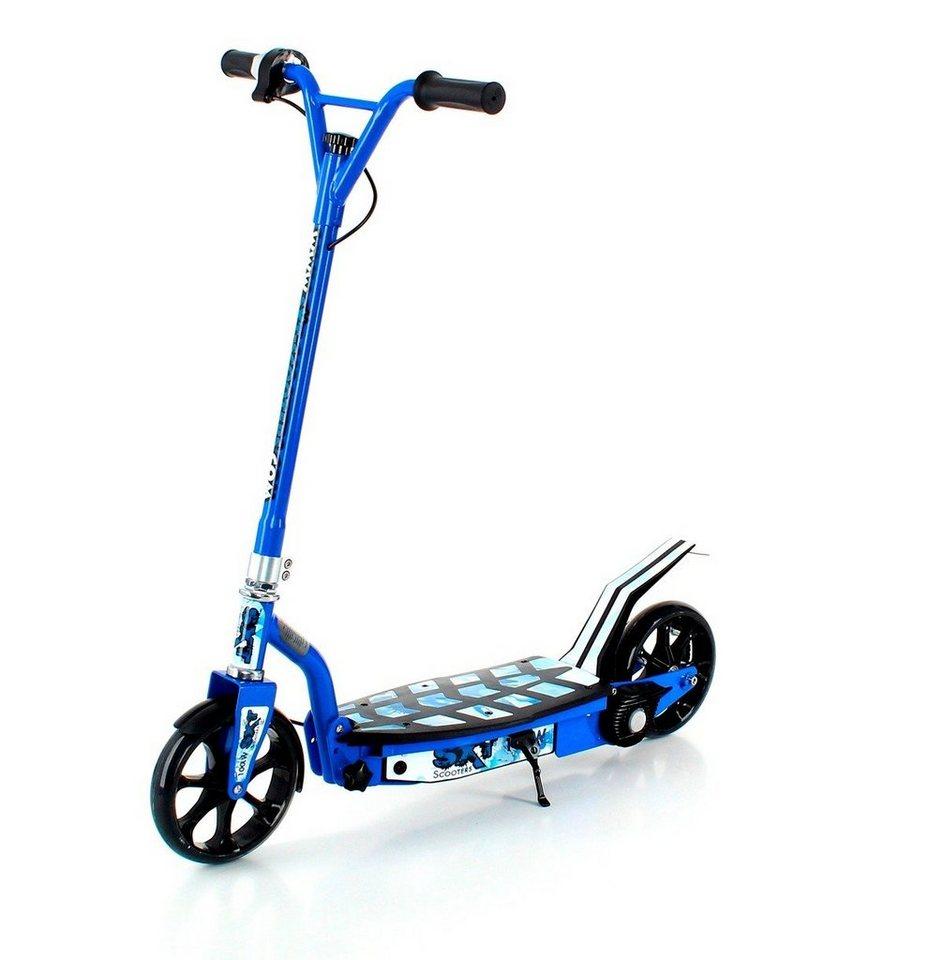 E-Scooter »SXT100«, 100 Watt, 10 km/h in blau
