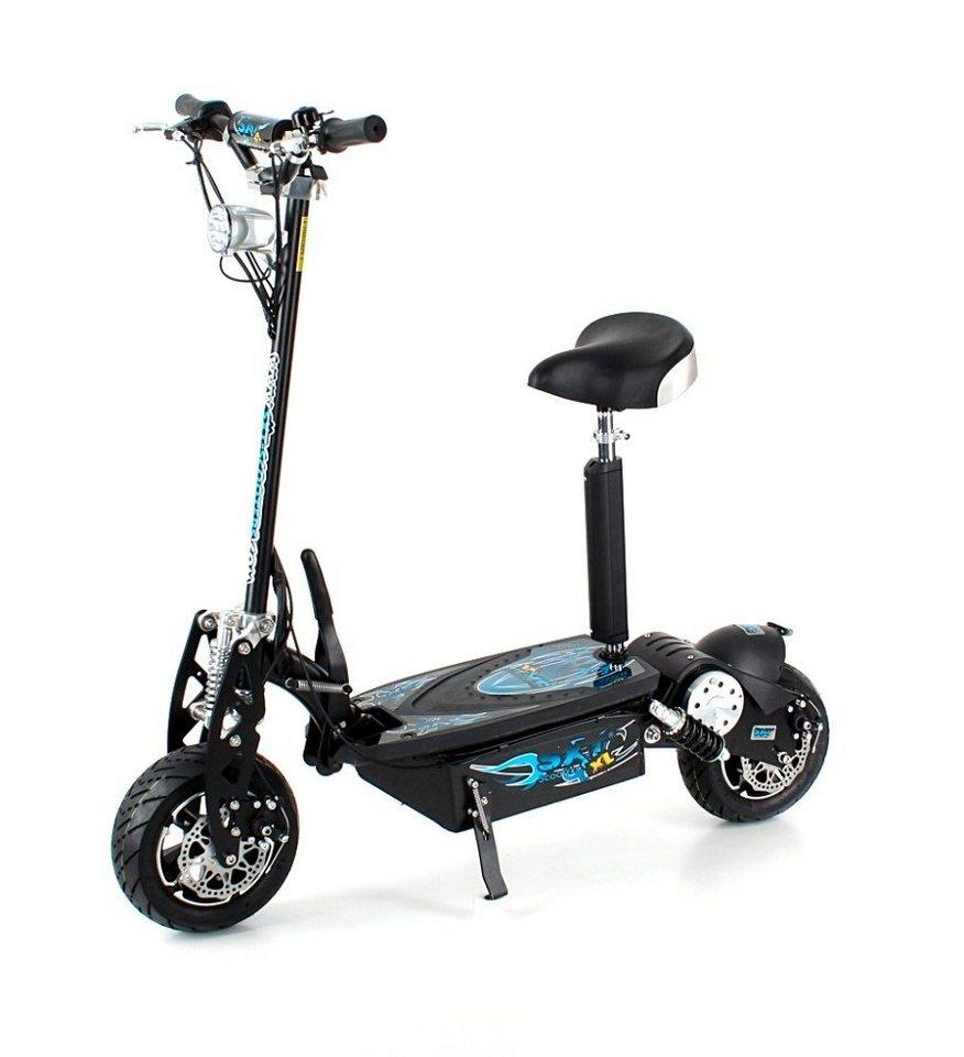 E-Scooter »SXT1000 XL«, 1600 Watt, 55 km/h in schwarz