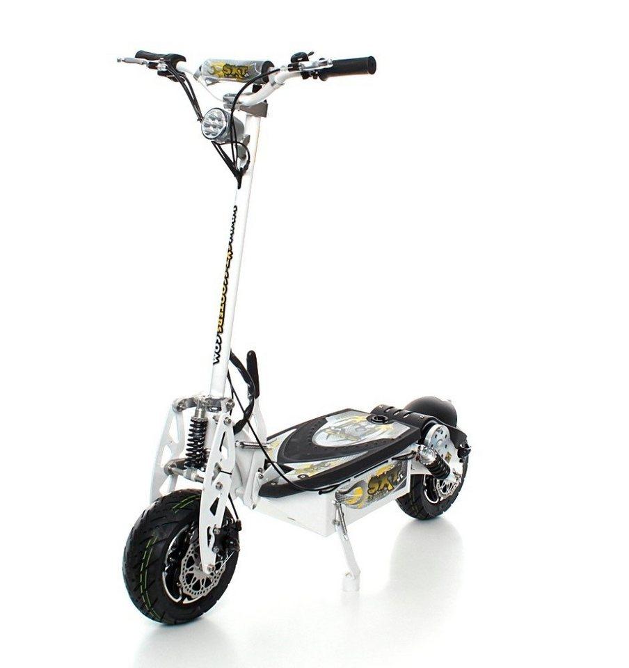 E-Scooter »SXT1000 XL«, 1600 Watt, 55 km/h in weiß