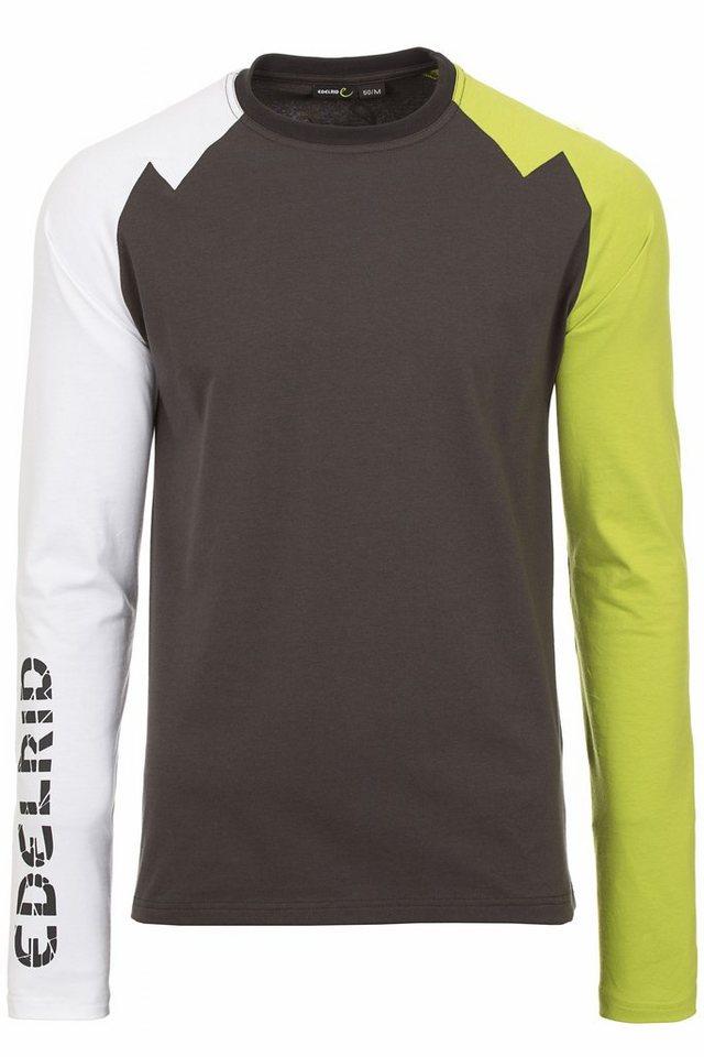 Edelrid Sweatshirt »Harvey Longsleeve Men« in grau