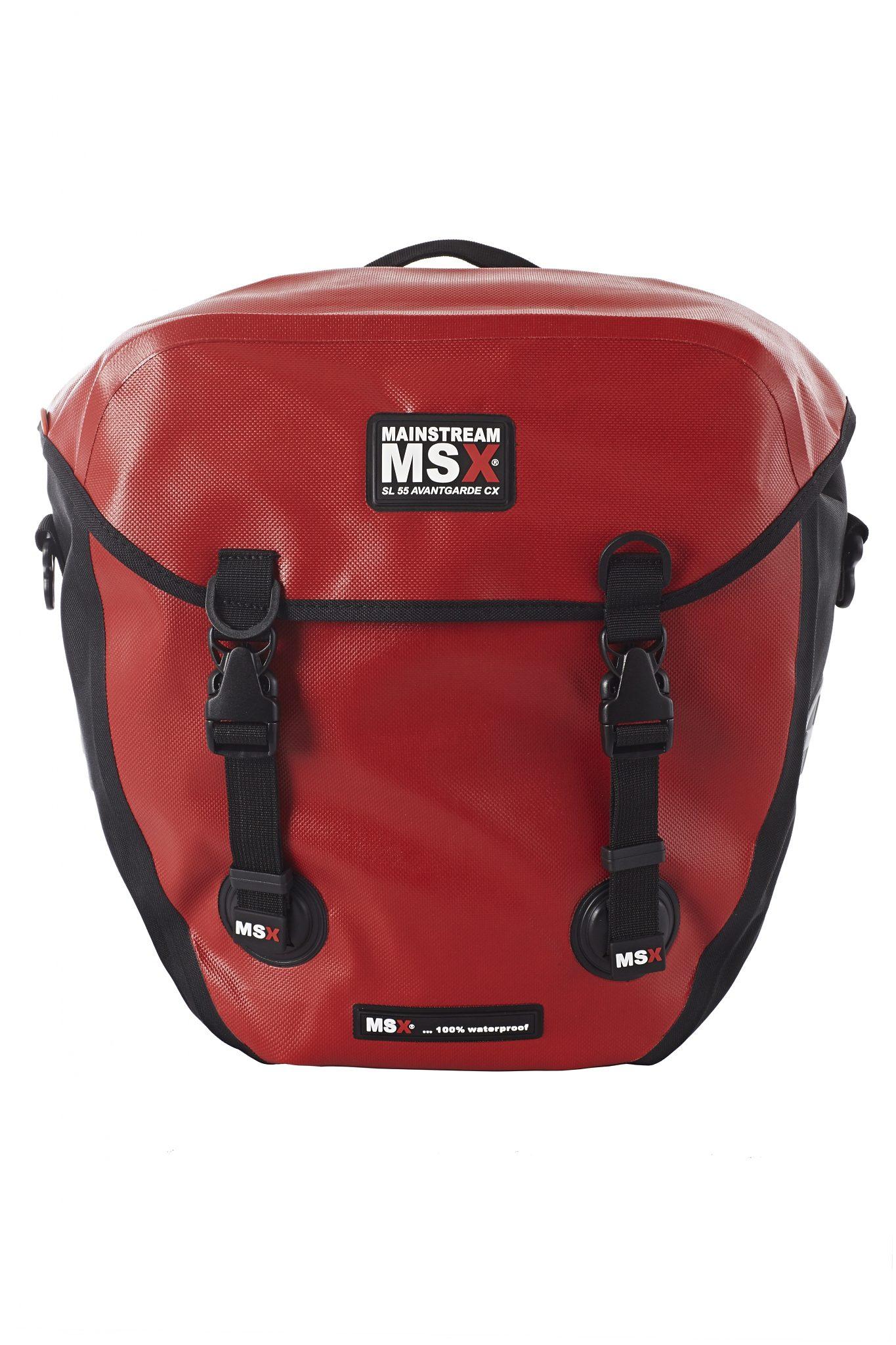 Mainstream MSX Gepäckträgertasche »SL 55 Avantgarde CX rot«