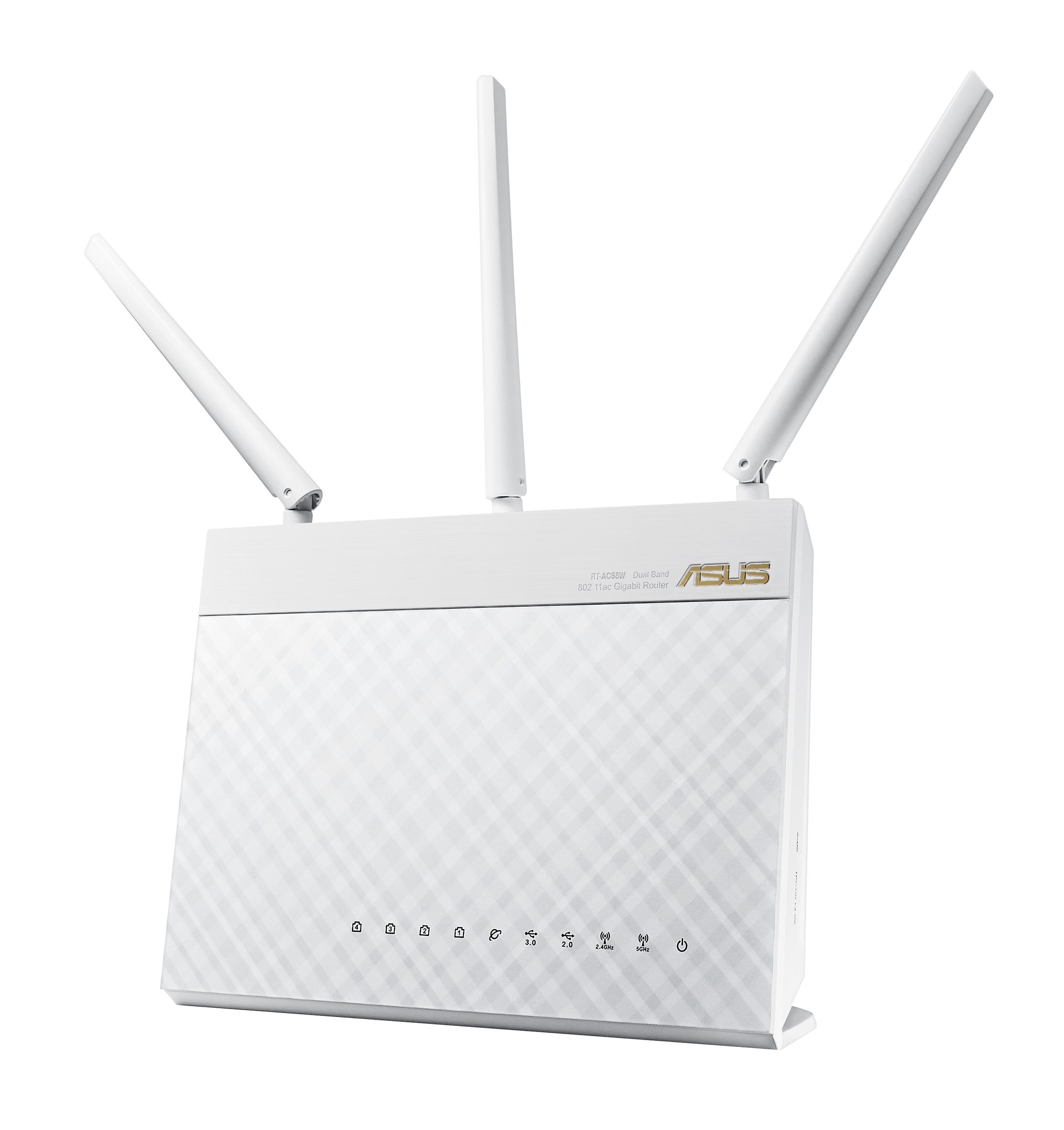 ASUS RT-AC68U White AC1900 Gigabit WLAN Router
