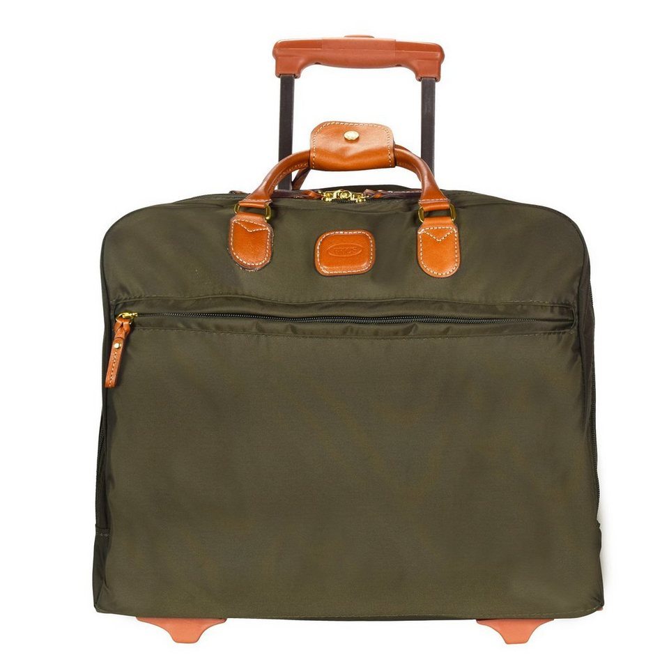 Bric's X-Travel Pilotentrolley 36 cm Laptopfach in olive
