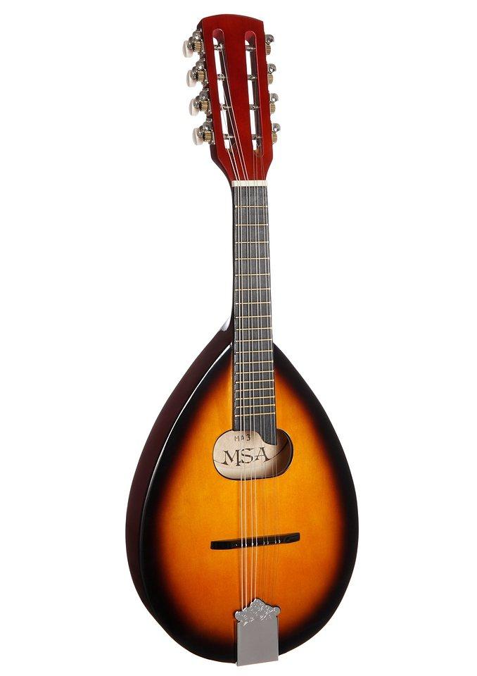 Mandoline, »Mandoline in portugiesischer Form«, MSA in sunburst