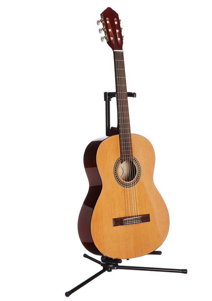 Konzertgitarre, »Konzertgitarre 4/4 mit schmalem Hals«, MSA in natur
