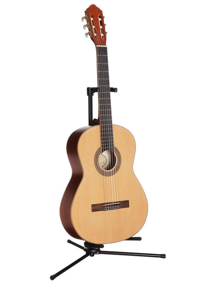Konzertgitarre, »Jose Ribera® Konzertgitarre 4/4 HG80«, MSA in natur
