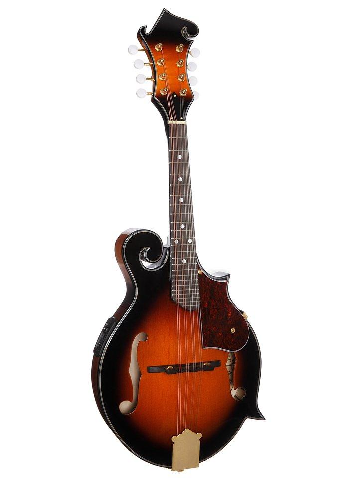 Mandoline, »Bluegrass F-Style Mandoline«, MSA in braun
