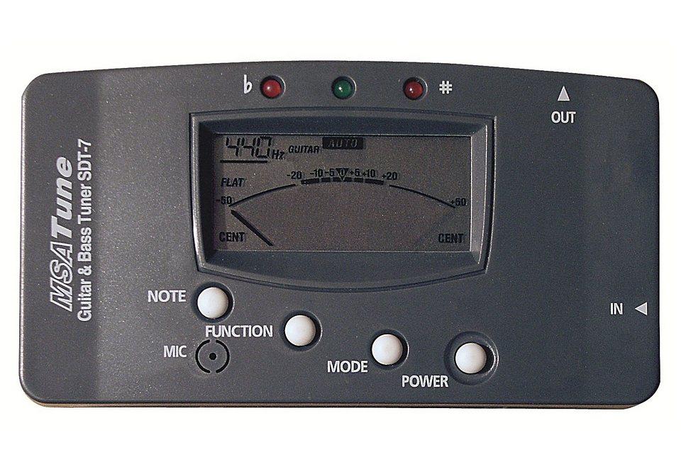Stimmgerät für mehrere Instrumente, »Digital Stimmgerät«, MSA