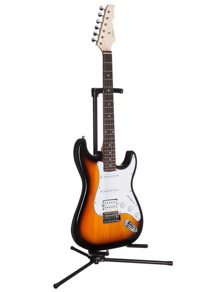 Elektrische Gitarre, »E-Gitarre ST 6«, MSA in sunburst