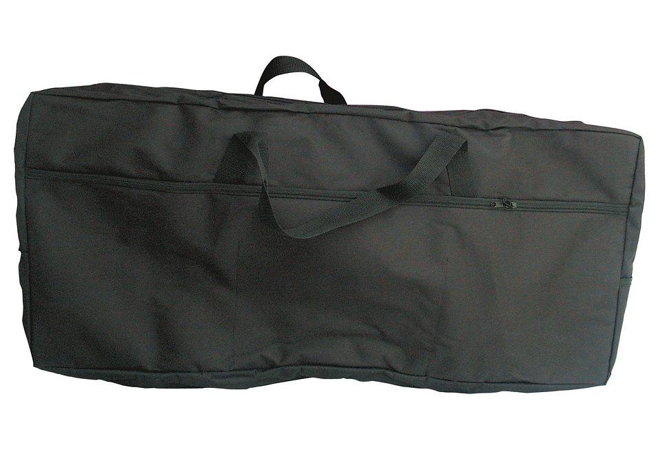Gefütterte Keyboardtasche in verschiedenen Größen, »Keyboardtasche«, MSA in schwarz