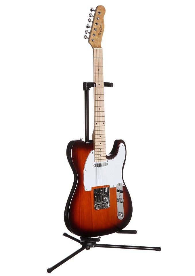 Elektrische Gitarre für Rechts- und Linkshänder, »E-Gitarre ET«, MSA ...