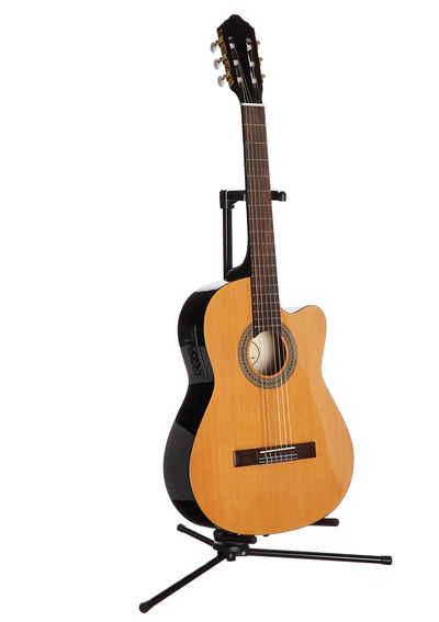 Konzertgitarre »Jose Ribera® Konzertgitarre 4/4 mit Equalizer« 4/4