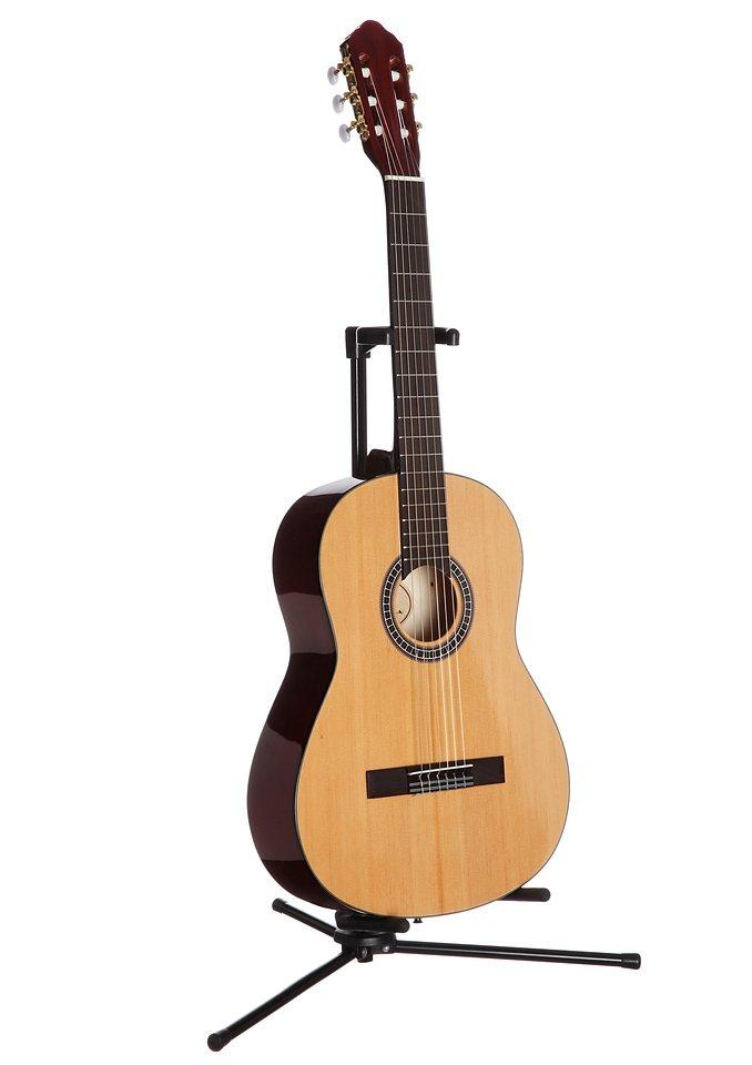 Konzertgitarre, »Jose Ribera®Konzertgitarre 4/4 HG79«, MSA in natur