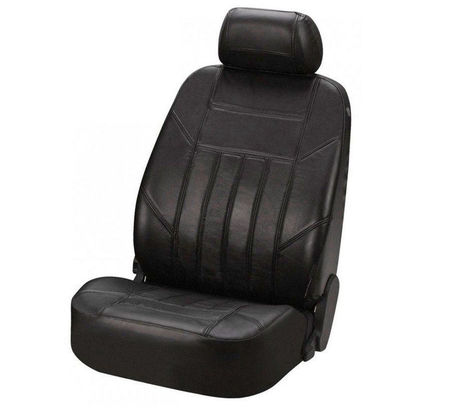Walser Autositzbezug »Nappa« in schwarz