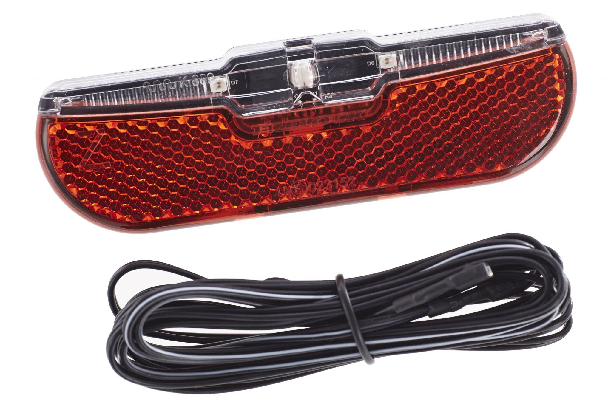 Trelock Fahrradbeleuchtung »LS 820 Duo Flat Signal Rücklicht«