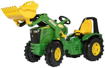 Rolly Toys Tretfahrzeug »Premium John Deere 8400R«, Kindertraktor mit Lader