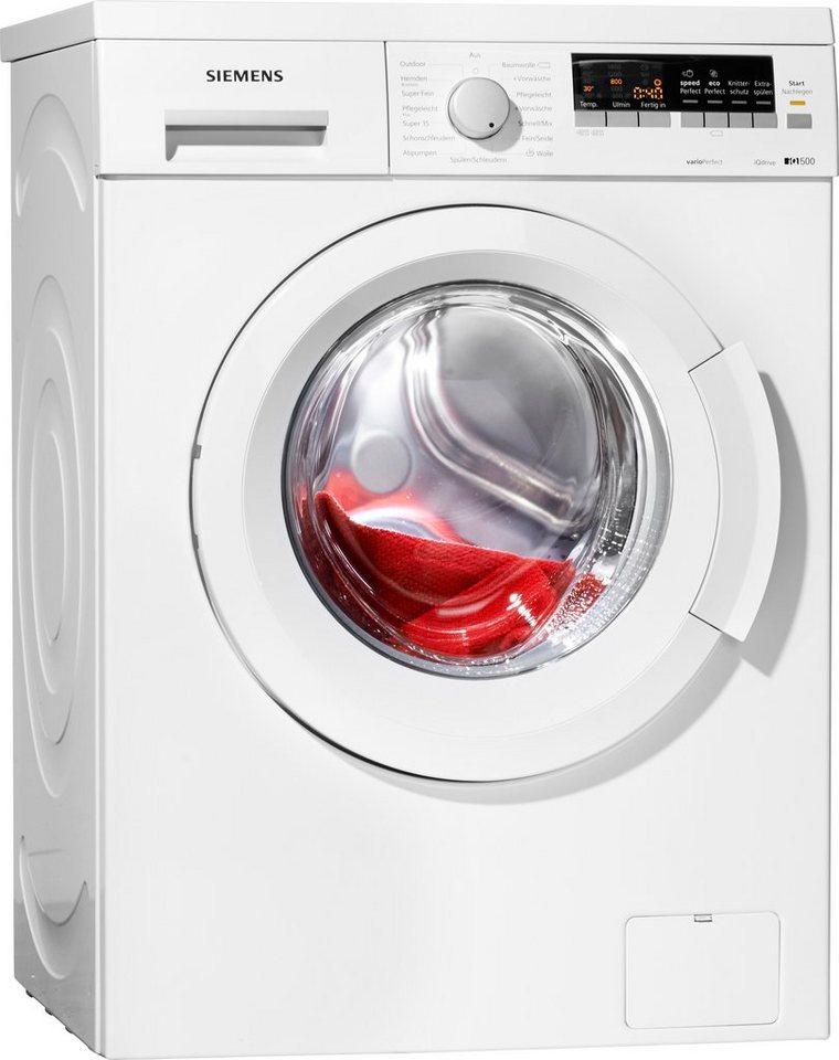 siemens waschmaschine wm14q442 a 7 kg 1400 u min online kaufen otto. Black Bedroom Furniture Sets. Home Design Ideas