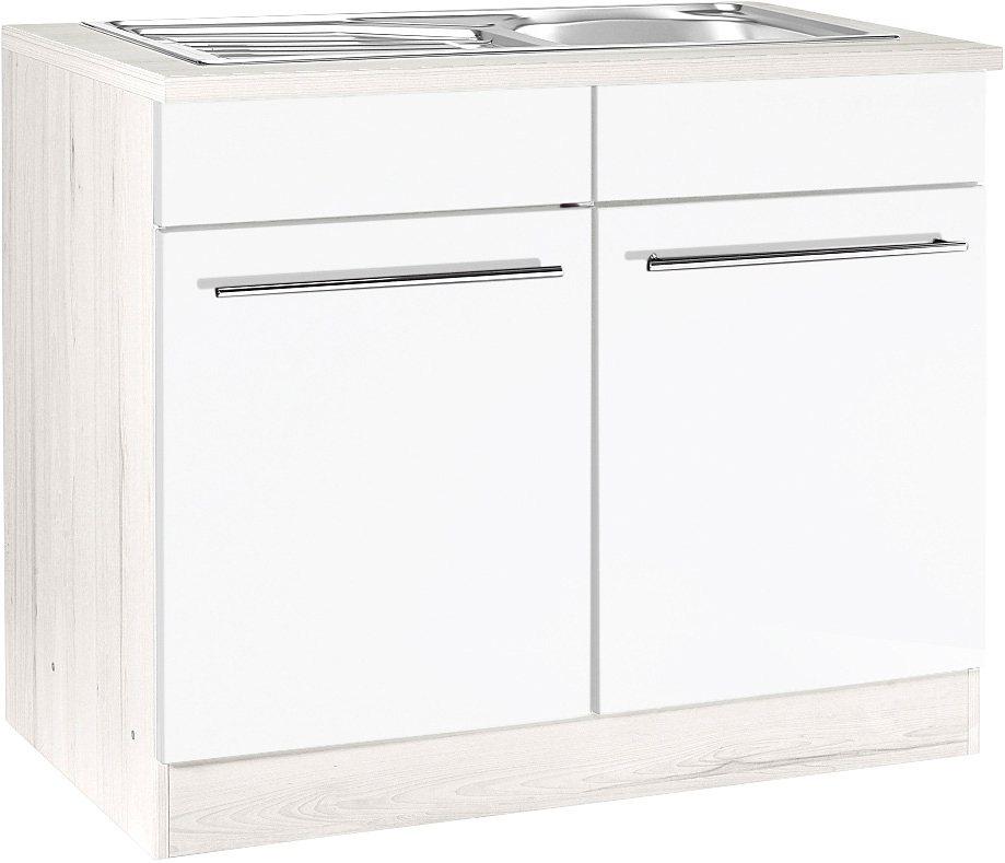Spülenschrank, Held Möbel, »Avignon« in Weiß