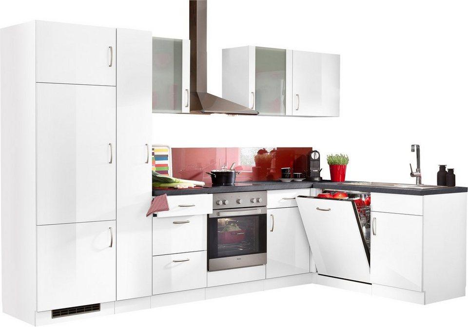 Amica Kühlschrank Neckermann : Winkelküche »brüssel« mit e geräten stellbreite 310 x 170 cm
