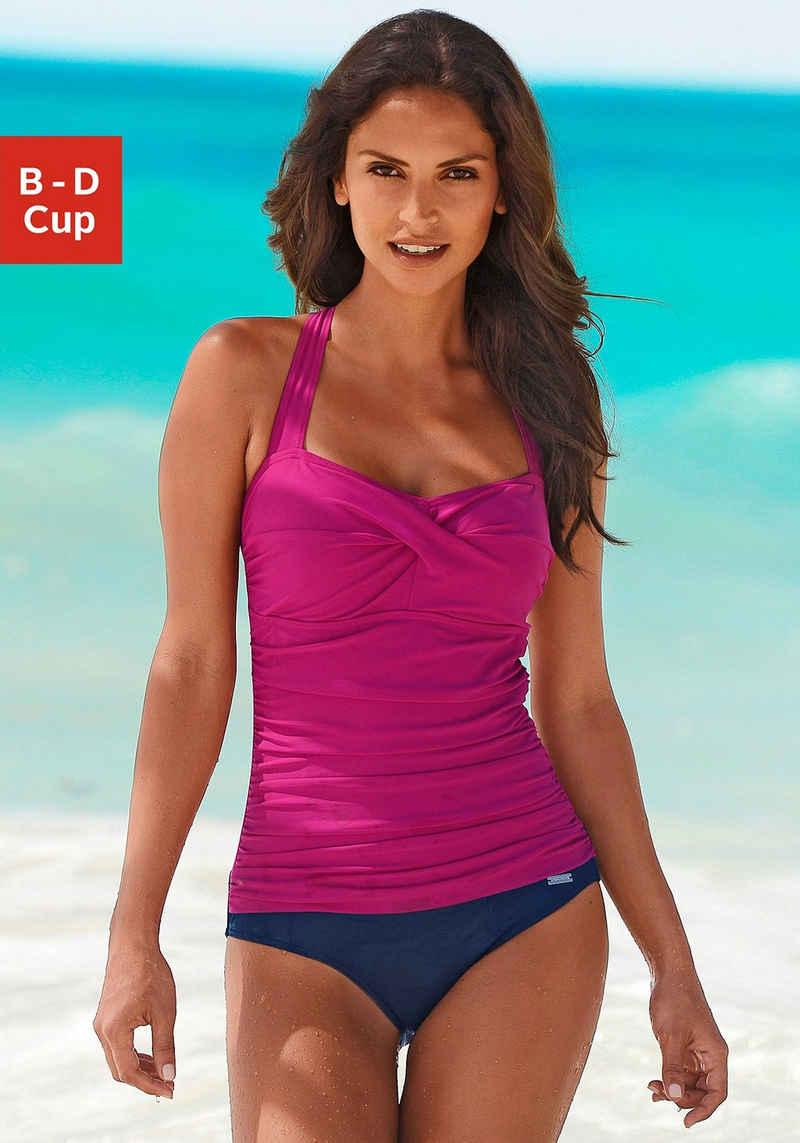 LASCANA Badeanzug, mit modischem Rücken und Shaping-Effekt