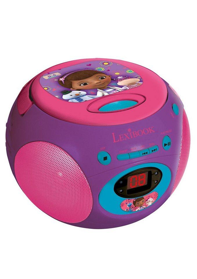 Lexibook, CD-Player, »Doc McStuffin-Design« in lila