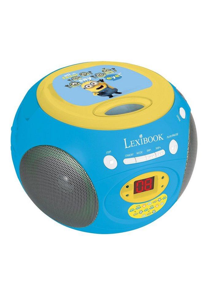 CD-Player, »Ich, einfach unverbesserlich«, Lexibook in blau