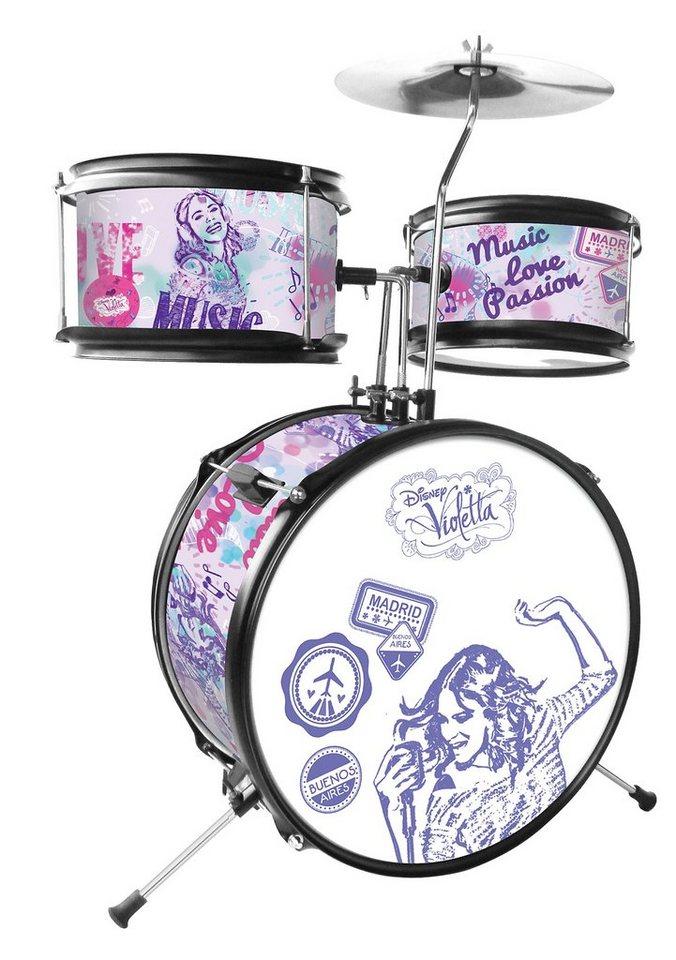 Kinder-Schlagzeugset, »Disney Violetta«, Lexibook (5tlg.)