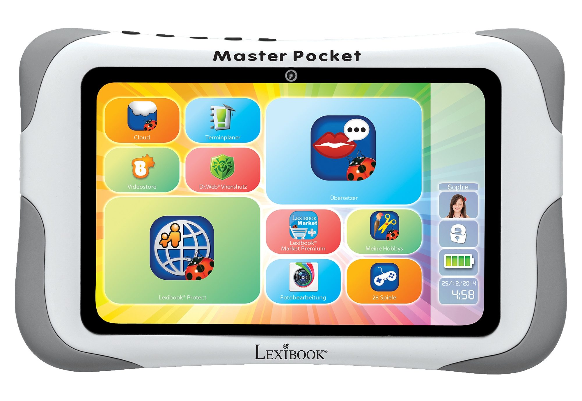 Lexibook, Kinder-Tablet, »Master Pocket«
