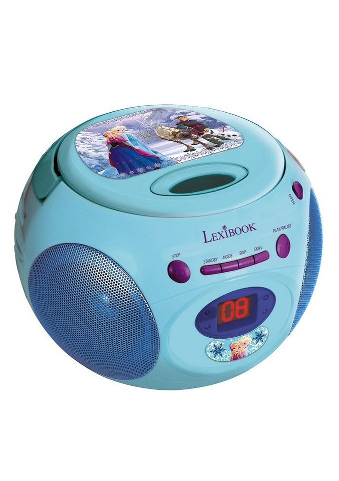 CD-Player, »Disney Frozen«, Lexibook in blau