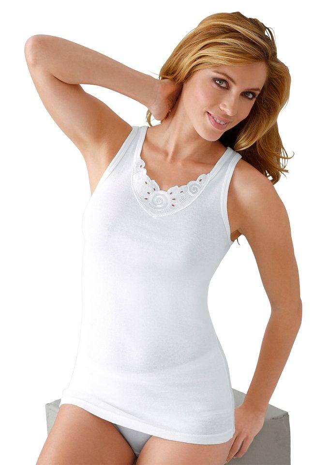 Achselhemd, Rosalie in weiß