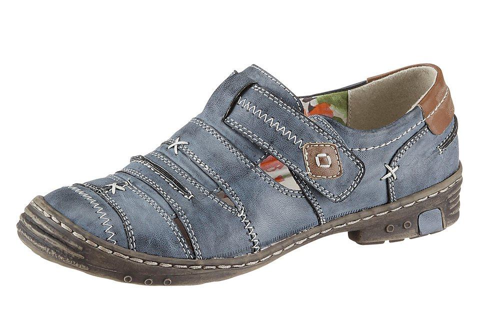 Klettschuh, Reflexan in jeansblau