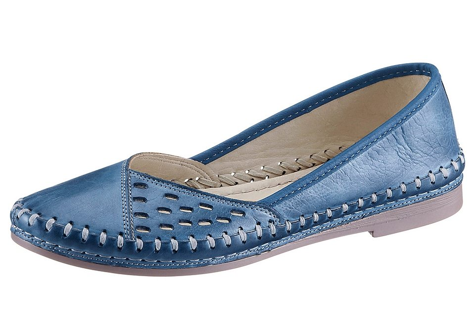 Slipper, Gemini in jeansblau