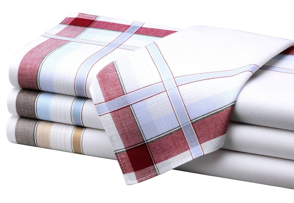 Herren-Taschentücher in sortiert