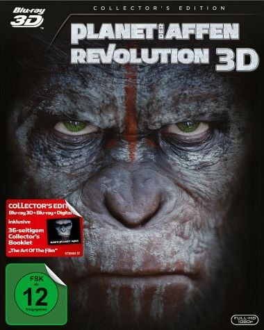 Blu-ray »Planet der Affen: Revolution (Blu-ray 3D)«