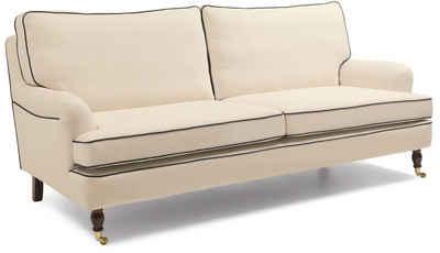 Max Winzer® 3-Sitzer »Poesie«, im Retrolook, Breite 210 cm