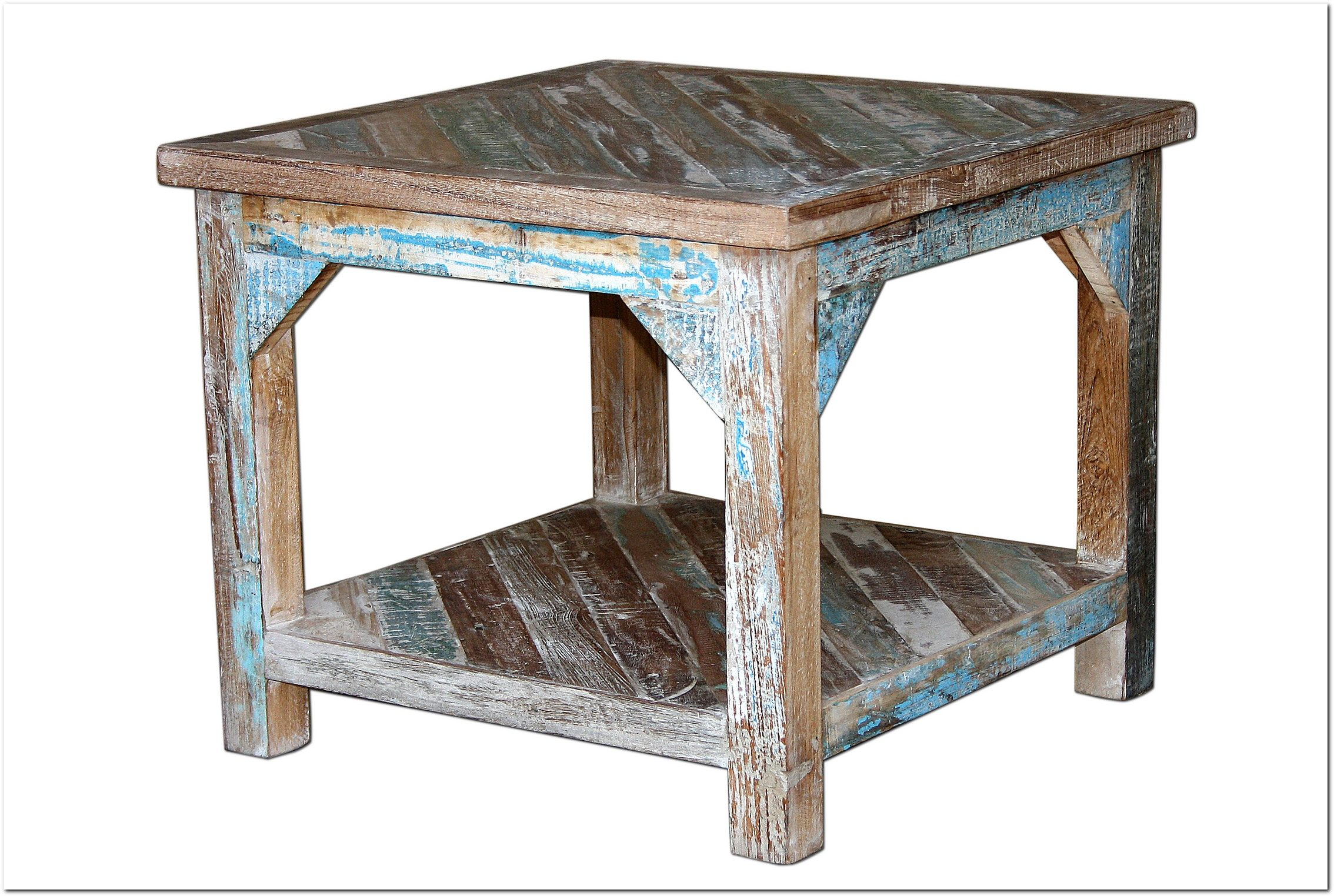 Home affaire Couchtisch »India« aus recyceltem Holz