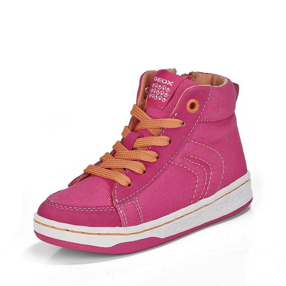 Geox Schnürbootie in pink