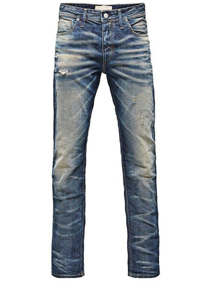 Jack & Jones Nick Original BL 082 Regular fit Jeans in Blue Denim