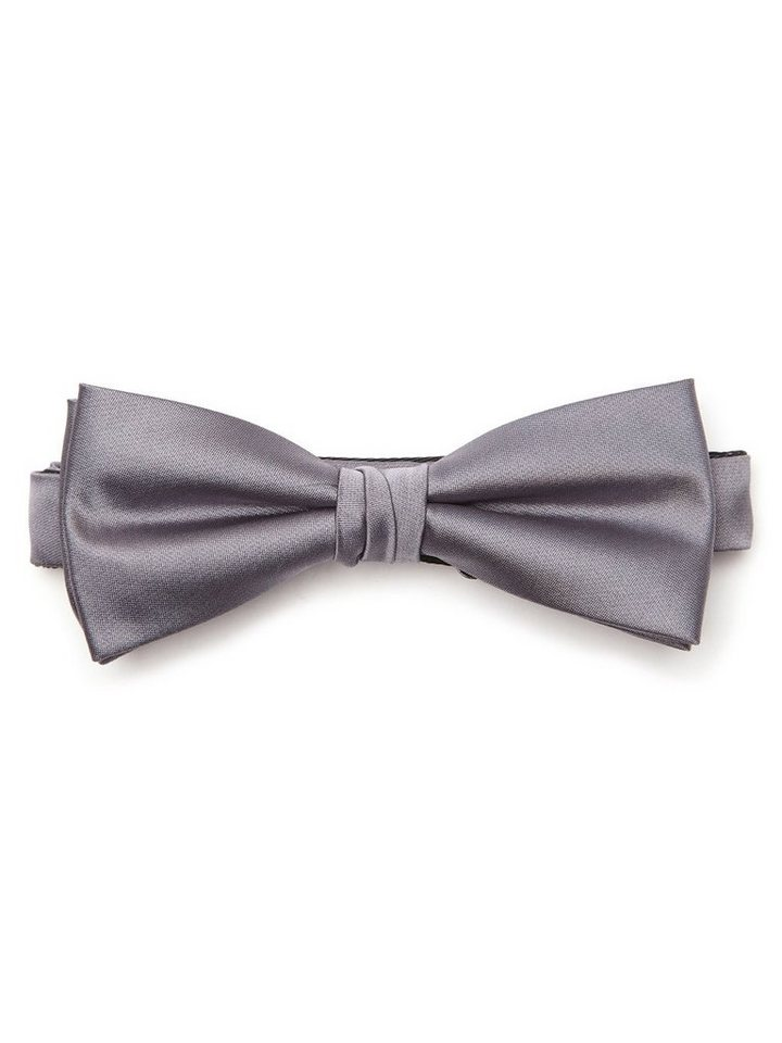 Selected Night bowtie NOOS ID in Mid Grey Melange